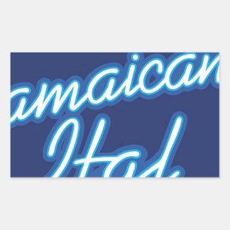 Jamaican Ital originals Rectangular Sticker