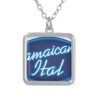 Jamaican Ital originals Silver Plated Necklace