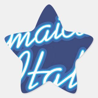 Jamaican Ital originals Star Sticker
