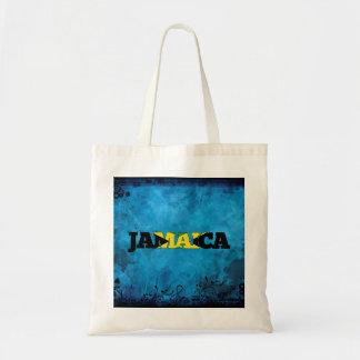 Jamaican name and flag on cool wall tote bag