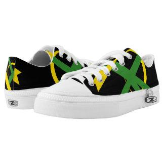 Jamaican Portal Lo-Top Sneakers Printed Shoes
