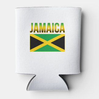 Jamaican Pride Flag Of Jamaica Can Cooler