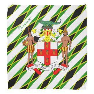 Jamaican stripes flag bandana