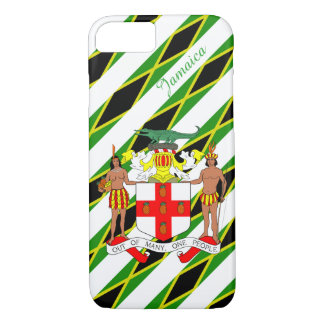 Jamaican stripes flag iPhone 8/7 case