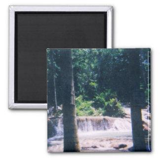 Jamaican Waterfall Magnet