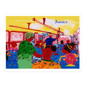 JamaicanBusRide Postcard
