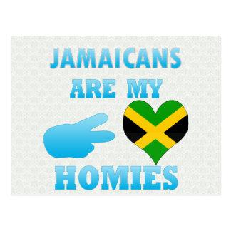 Jamaicans are my Homies Postcard