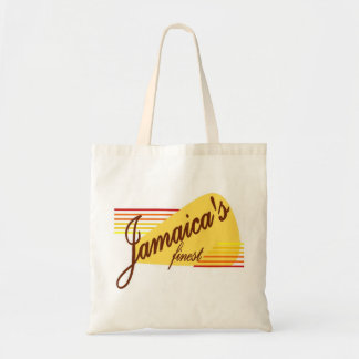 jamaica's finest budget tote bag