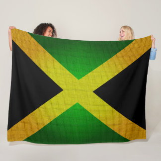 Jamaica's Flag Colors Designer Blanket