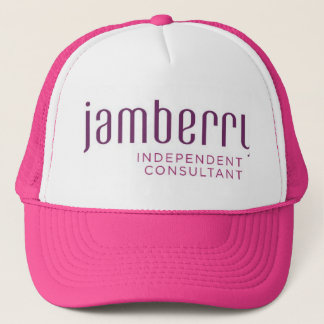 Jamberry plum and raspberry Trucker hat