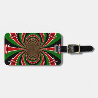 Jambo Habari ! Kenya Hakuna Matata Gift Luggage Tag