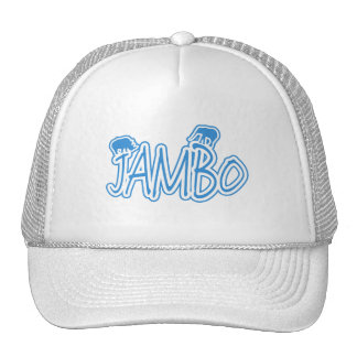 Jambo swahili Hello blue Cap