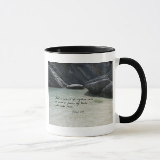 James 3:18 And a harvest of righteousness... Mug