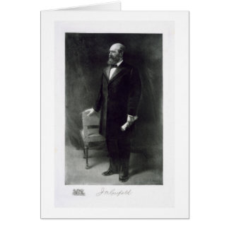 James A. Garfield, 20th President of the United St Greeting Card