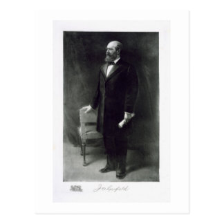 James A. Garfield, 20th President of the United St Postcard