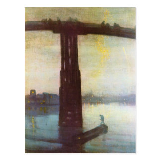James Abbot McNeill Whistler - The old Battersea B Postcard