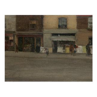 James Abbott McNeill Whistler - Chelsea Shops Postcard