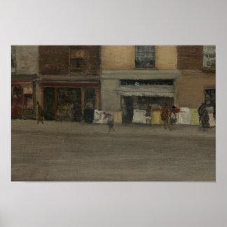 James Abbott McNeill Whistler - Chelsea Shops Poster