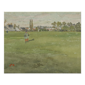 James Abbott McNeill Whistler - Green and Silver Poster