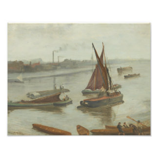 James Abbott McNeill Whistler - Grey and Silver Photo Print