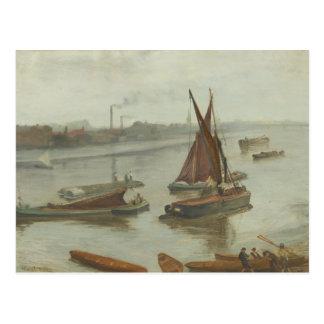James Abbott McNeill Whistler - Grey and Silver Postcard