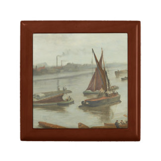 James Abbott McNeill Whistler - Grey and Silver Small Square Gift Box