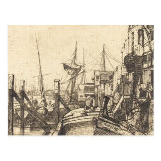 James Abbott McNeill Whistler - Limehouse Postcard