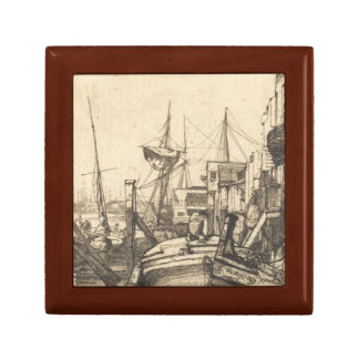 James Abbott McNeill Whistler - Limehouse Small Square Gift Box