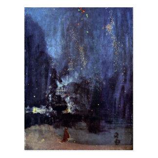 James Abbott McNeill Whistler - Night in Black and Postcard
