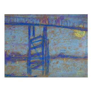 James Abbott McNeill Whistler -Nocturne-Battersea Postcard