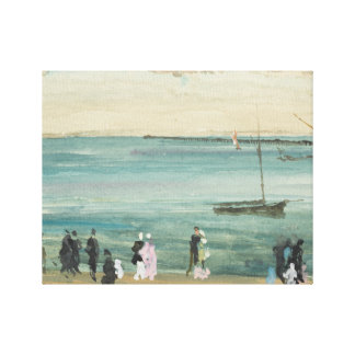 James Abbott McNeill Whistler - Southend Pier Canvas Print