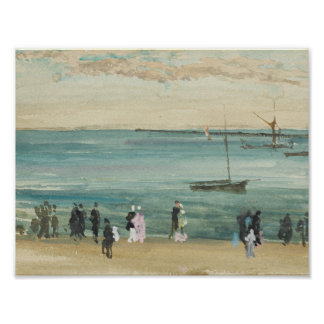 James Abbott McNeill Whistler - Southend Pier Poster