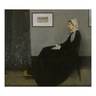 James Abbott Whistler - Whistler's Mother Poster