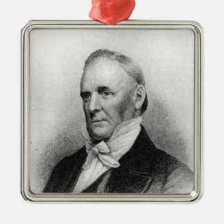 James Buchanan 15th President Metal Ornament