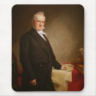 James Buchanan Mouse Pad