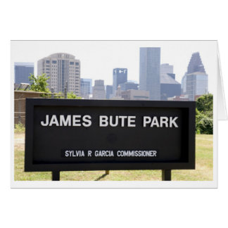 James Bute Park Card