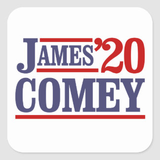 James Comey for President 2020 -  Square Sticker