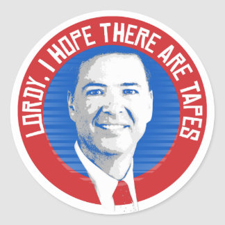James Comey Seal - Lordy I hope there are tapes -
