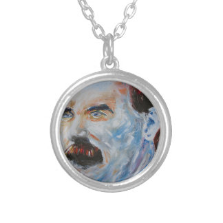 james connolly silver plated necklace