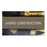 JAMES CONSTRUCTION Double-Sided STANDARD BUSINESS CARDS (Pack OF 100)