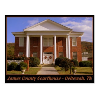 James County Courthouse - Ooltewah, TN Postcard