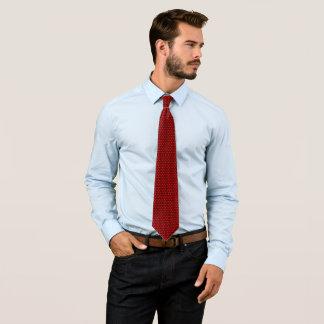 James Dean Red Circle Pattern Tie
