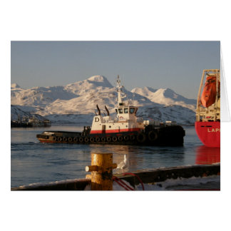 James Dunlap Tugboat in Dutch Harbor, AK Card