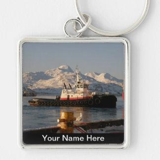 James Dunlap Tugboat in Dutch Harbor, AK Key Ring