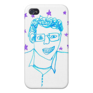 'James Franco with Glasses' iPhone 4/4S Case
