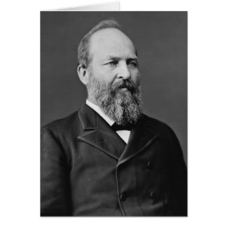 James Garfield 20th President Greeting Card