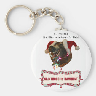 James Garfield:Patron Saint of Accidental Miracles Key Ring