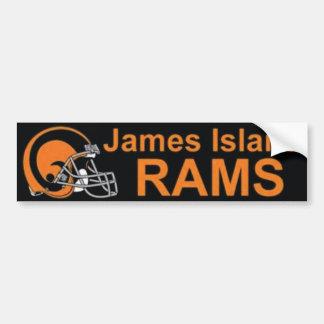 James Island Rams Bumper Sticker