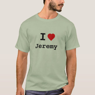 (James) Jeremy: A Tribute in Cloth T-Shirt
