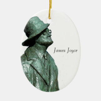James Joyce image for Oval Ornament